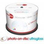 Primeon CD-R 700 MB Inkjet Glossy Printable 50 stuks