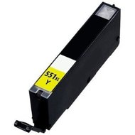 Canon-Compatible-inktcartridges-CLI-551-Yellow-(-met-Chip-)