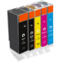 Canon pixma Compatible inkt cartridges CLI-571 / PGI-570 set 5 stuks XL ( met Chip )